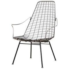 Rare Cees Braakman and Adriaan Dekker Flamingo Chair