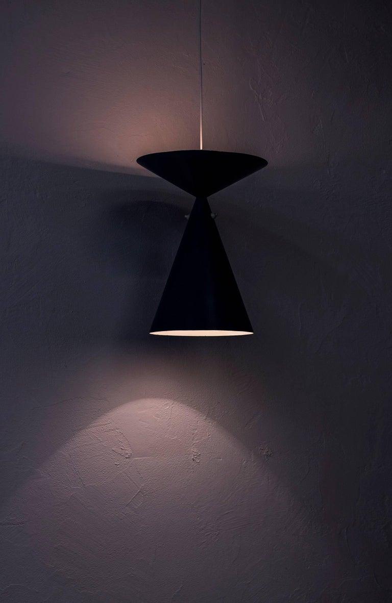 Rare Ceiling Lamp by Bertil Brisborg, Sweden, circa 1950 For Sale 1