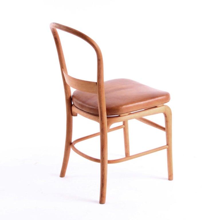 Rare Chair by Vilhelm Lauritzen for Radiohuset, Denmark, 1940s In Good Condition For Sale In Copenhagen, DK