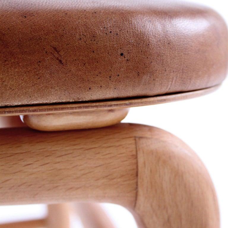 20th Century Rare Chair by Vilhelm Lauritzen for Radiohuset, Denmark, 1940s For Sale
