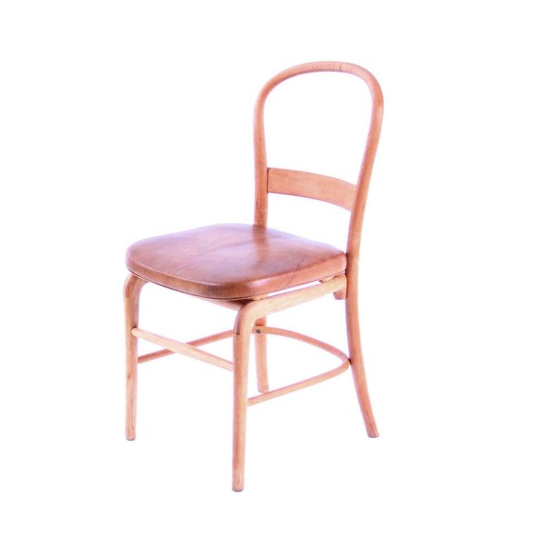 Beech Rare Chair by Vilhelm Lauritzen for Radiohuset, Denmark, 1940s For Sale