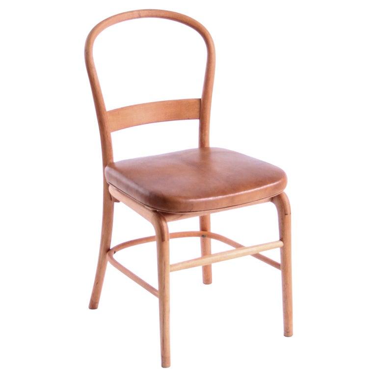 Rare Chair by Vilhelm Lauritzen for Radiohuset, Denmark, 1940s For Sale