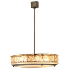 Rare chandelier by Fontana Arte