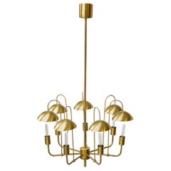 Rare Chandelier by Hans-Agne Jakobsson, Sweden, 1960s