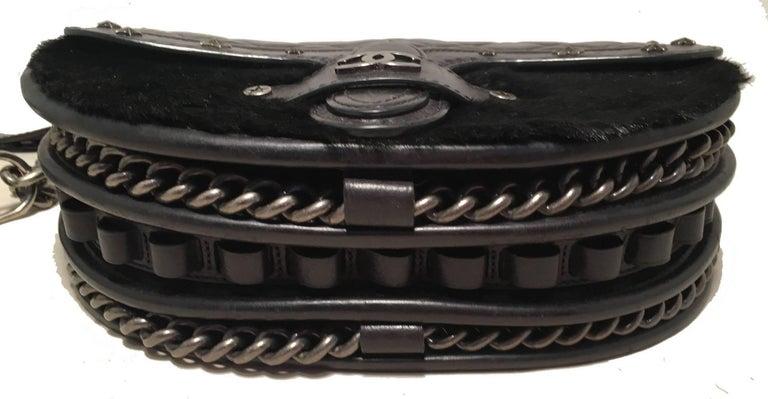 Women's Chanel Vintage Dallas Studded Saddle Bag For Sale