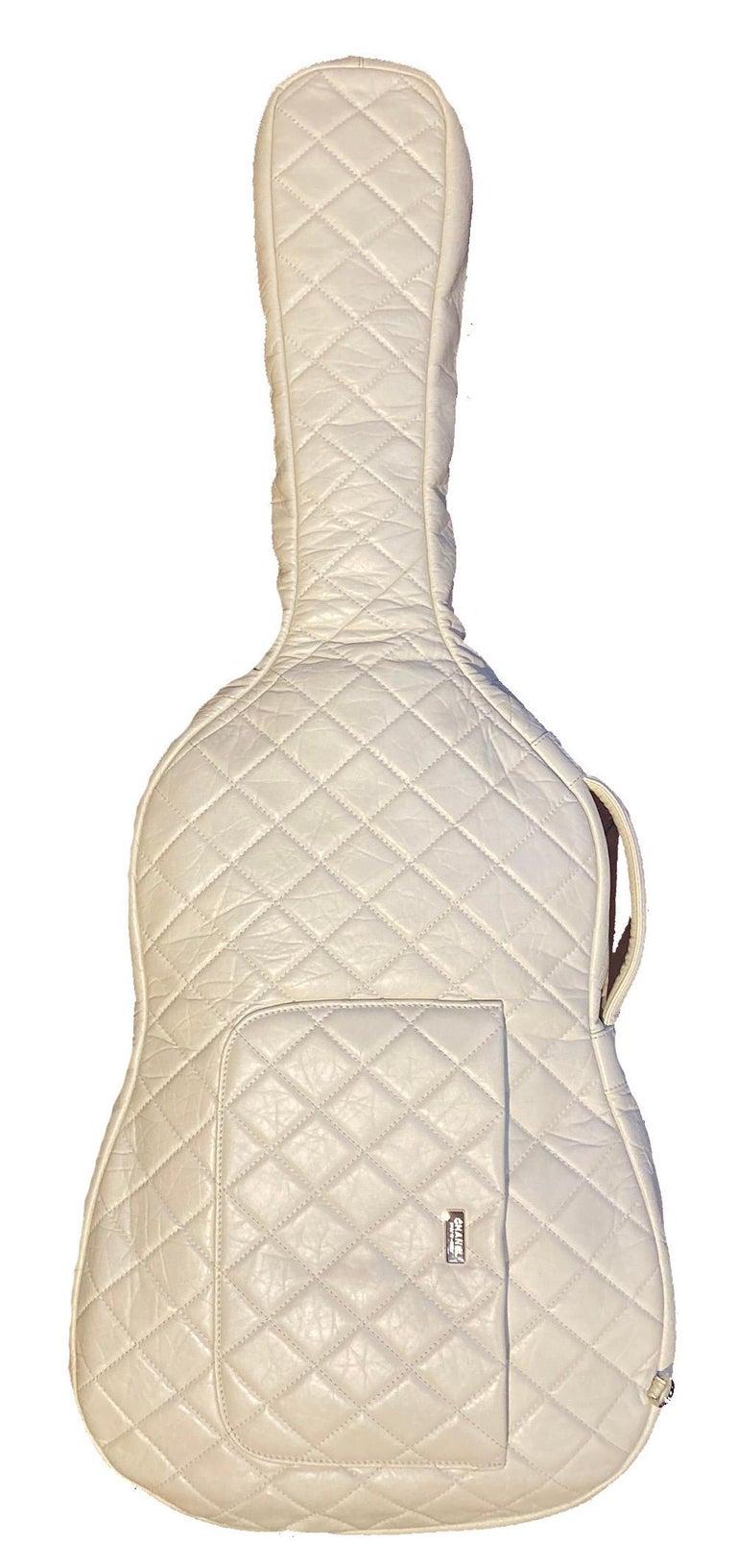 Gray RARE Chanel Guitar Case Runway Piece For Sale