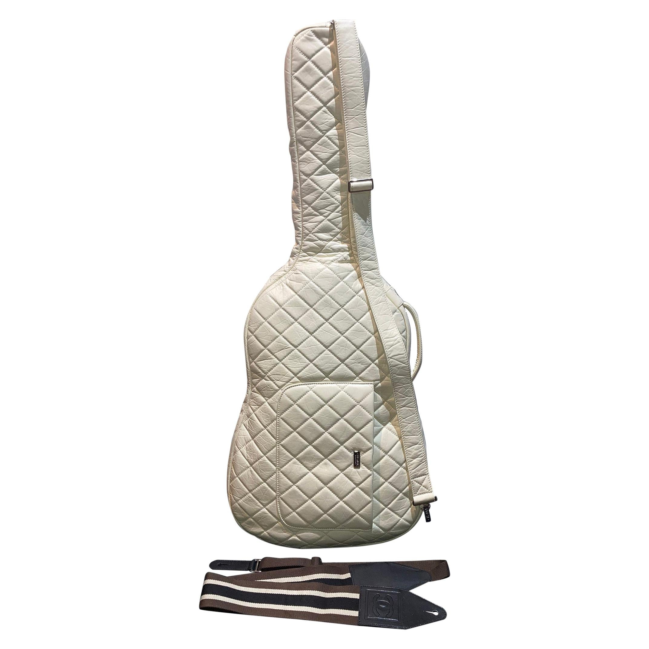 RARE Chanel Guitar Case Runway Piece