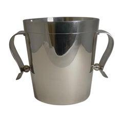 Rare Christofle Gallia Art Deco Wine Cooler / Champagne Bucket by Luc Lanel