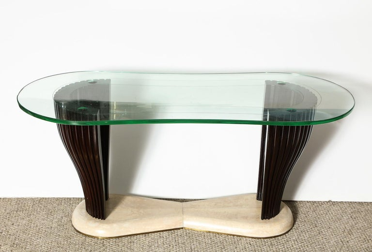 Italian Rare Cocktail Table by Dassi For Sale