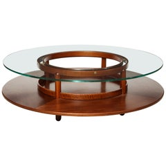 Rare Coffee Table by Giangranco Frattini for Cassina, Italy, 1960s