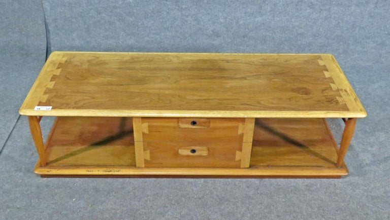 Mid-Century Modern Rare Coffee Table by Lane For Sale