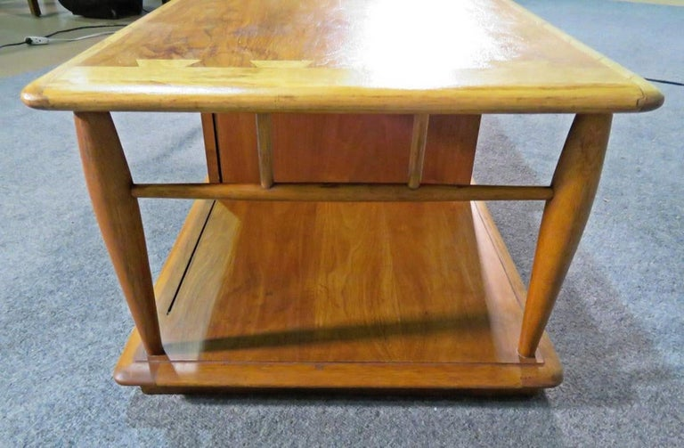 Mid-20th Century Rare Coffee Table by Lane For Sale