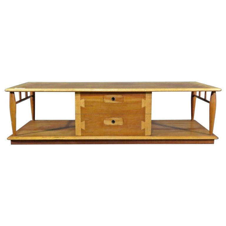 Rare Coffee Table by Lane For Sale