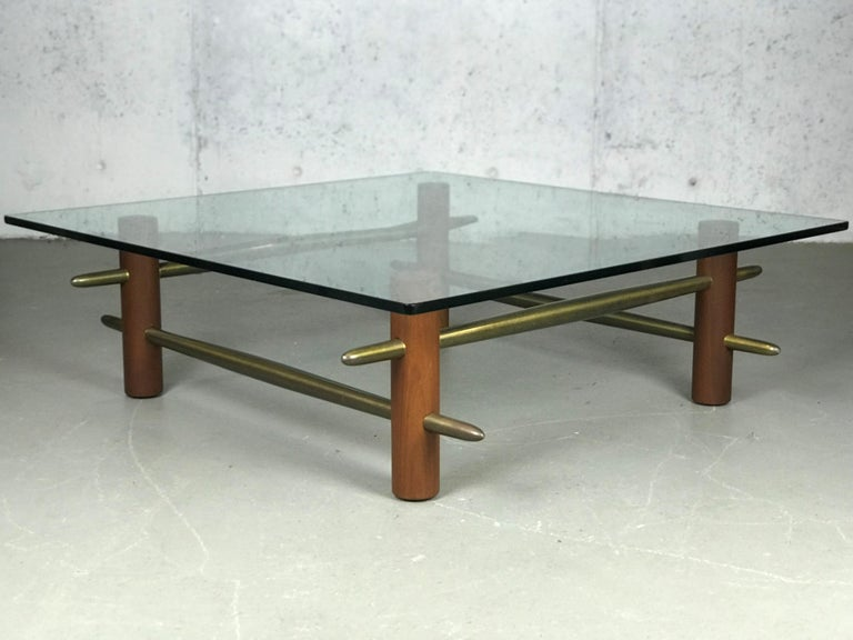 Rare Coffee Table by T.H. Robsjohn-Gibbings for Widdicomb Furniture For Sale 5