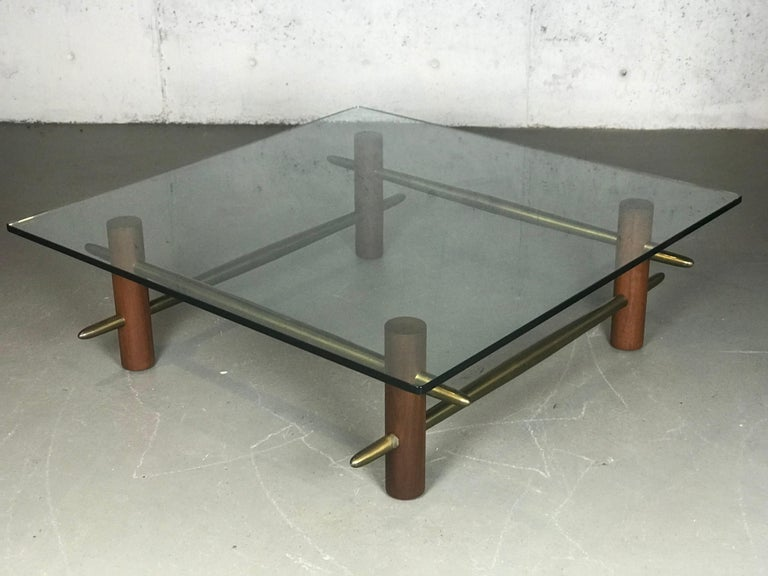 Rare Coffee Table by T.H. Robsjohn-Gibbings for Widdicomb Furniture For Sale 12