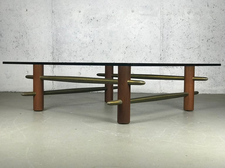 Rare Coffee Table by T.H. Robsjohn-Gibbings for Widdicomb Furniture For Sale 8
