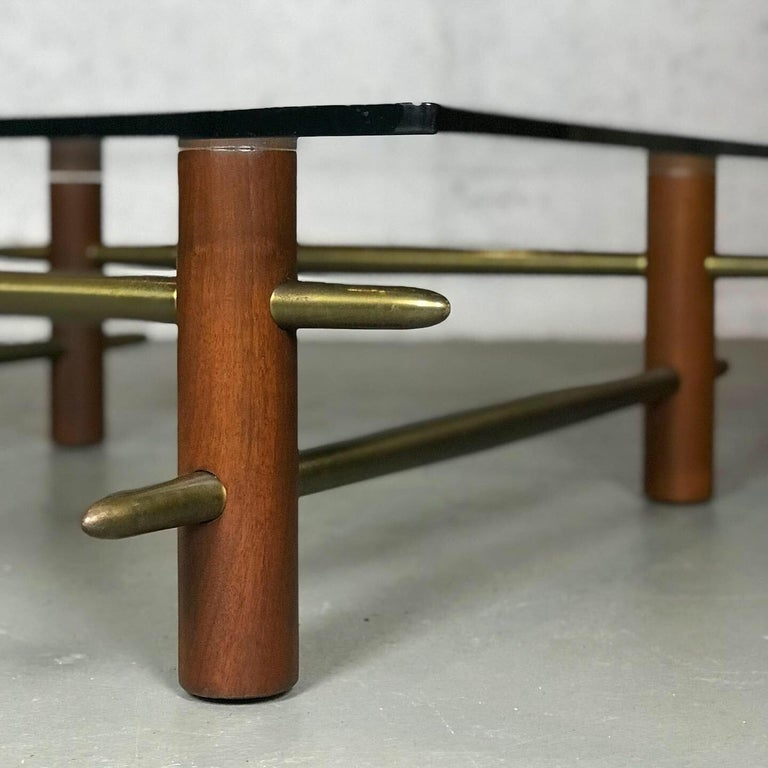 Mid-Century Modern Rare Coffee Table by T.H. Robsjohn-Gibbings for Widdicomb Furniture For Sale