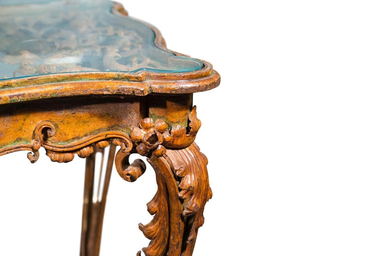 French Rare Coffee Table, France, circa 1900 For Sale