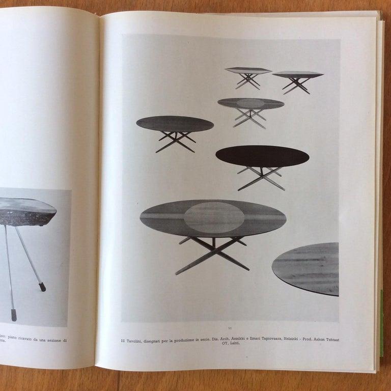 Rare Coffee Table Ovalette Model by Ilmari Tapiovaara, circa 1954, Finland For Sale 11