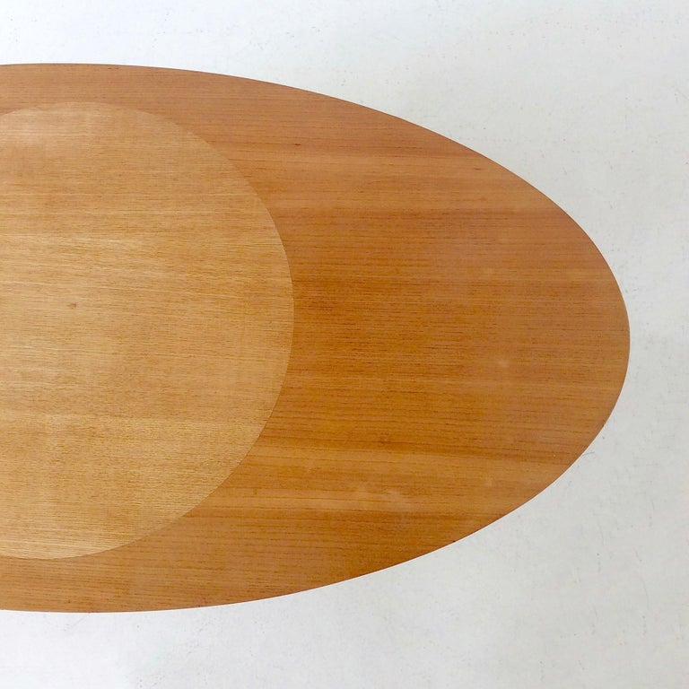 Rare Coffee Table Ovalette Model by Ilmari Tapiovaara, circa 1954, Finland For Sale 2