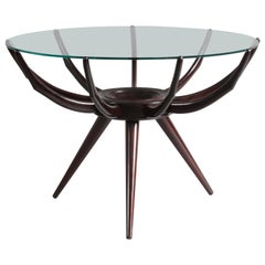 Rare Coffee Table Modell Spider Carlo de Carli, Italy, 1950