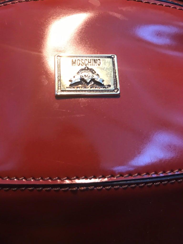 Rare Collectable Vintage Moschino Football Hand Bag For Sale 5