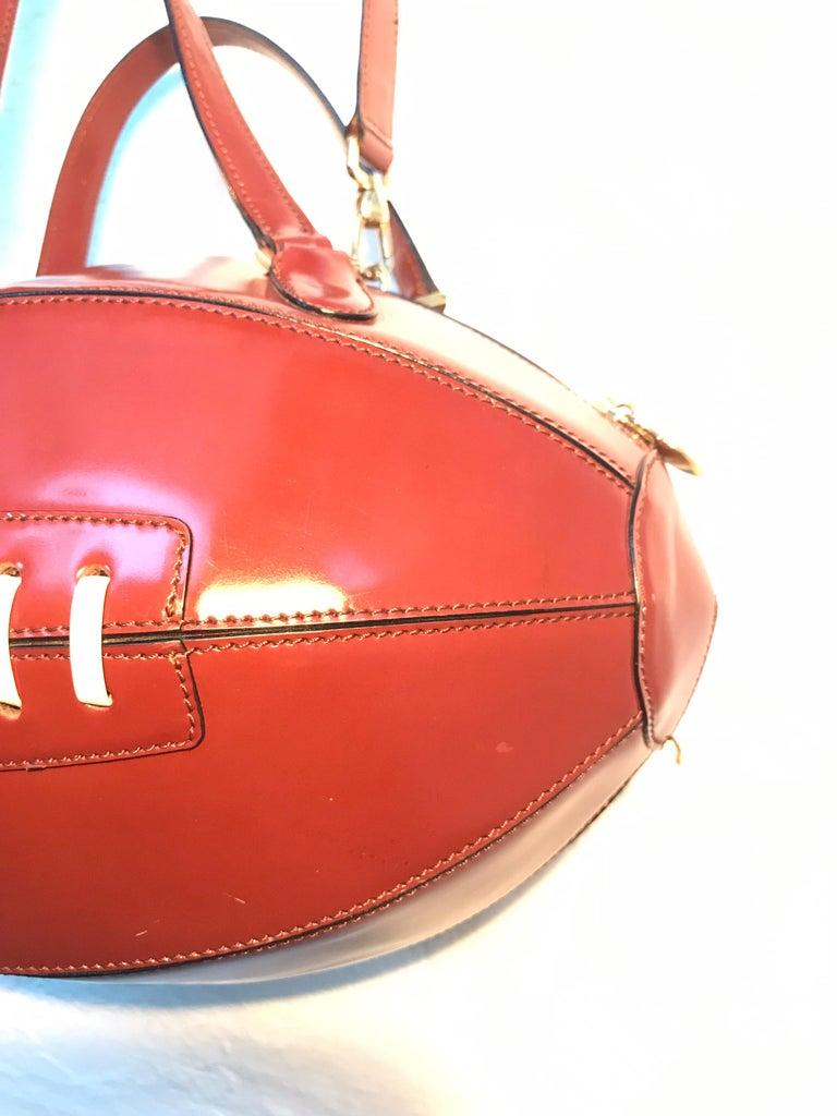 Modern Rare Collectable Vintage Moschino Football Hand Bag For Sale