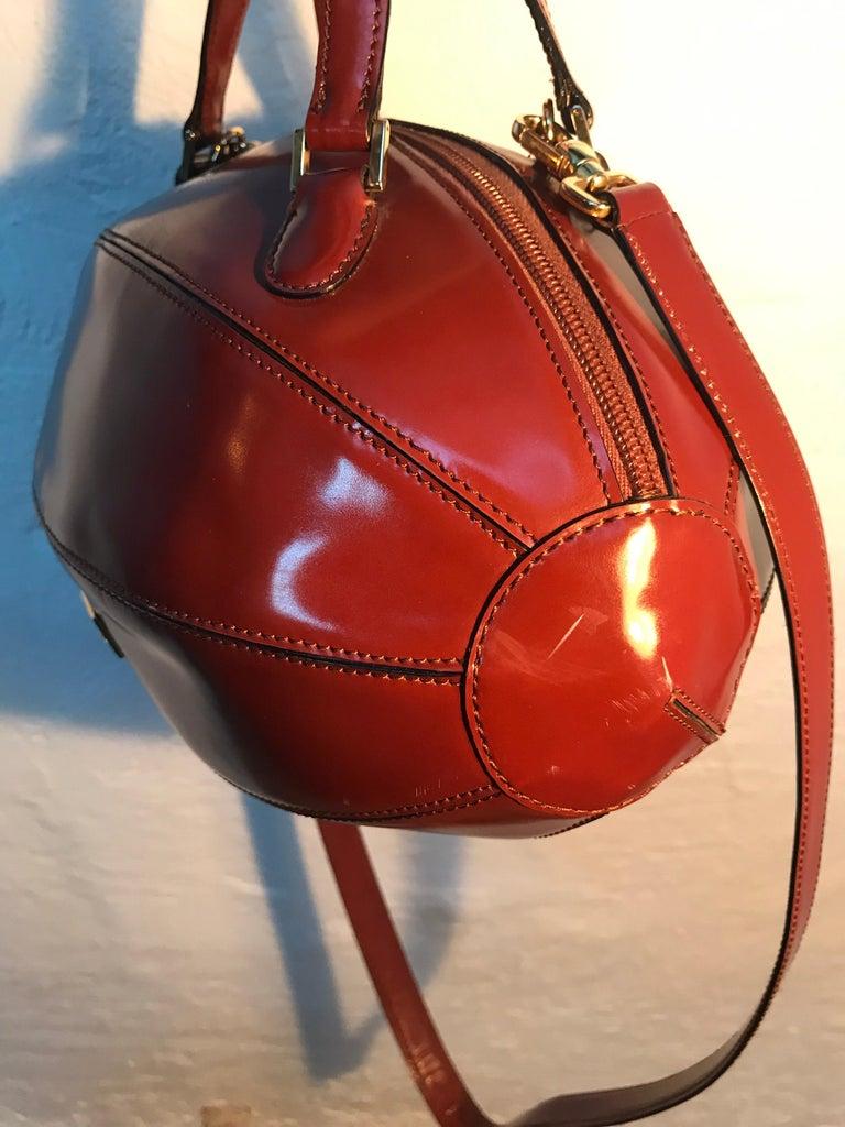 Rare Collectable Vintage Moschino Football Hand Bag For Sale 1