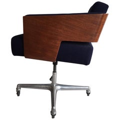 Rare 'Comfort' Office Chair Designed Antoine Philippon and Jacqueline Lecoq