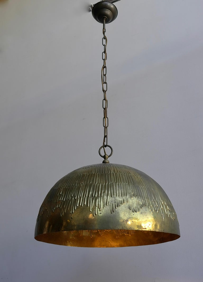 Copper Svend Aage Holm Sorensen Pendant Lamp for Holm Sorensen and Company For Sale 1