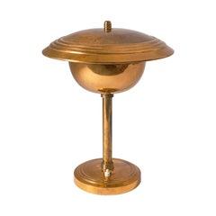 Rare Copper Table Lamp by Stilnovo, circa 1950