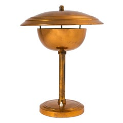 Rare Copper Table Lamp by Stilnovo, circa 1950