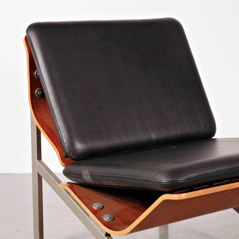 Mid-Century Modern Rare Cornelis Zitman Leather Easy Chair, 1964 For Sale