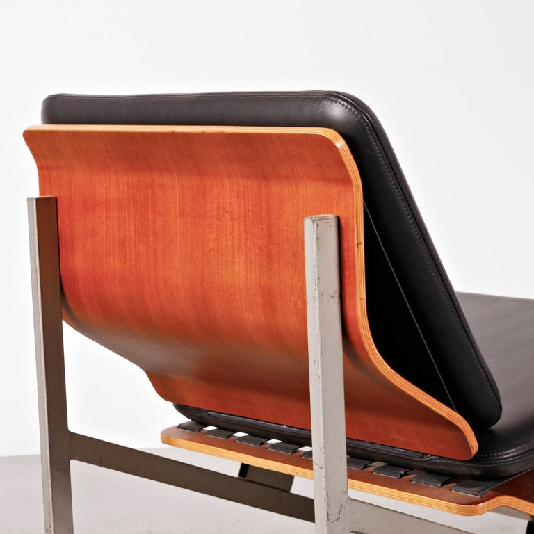 Rare Cornelis Zitman Leather Easy Chair, 1964 In Excellent Condition For Sale In Amsterdam, NL