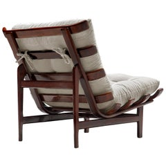 Lounge Chair in Solid Rosewood Frame by Móveis Pailar.