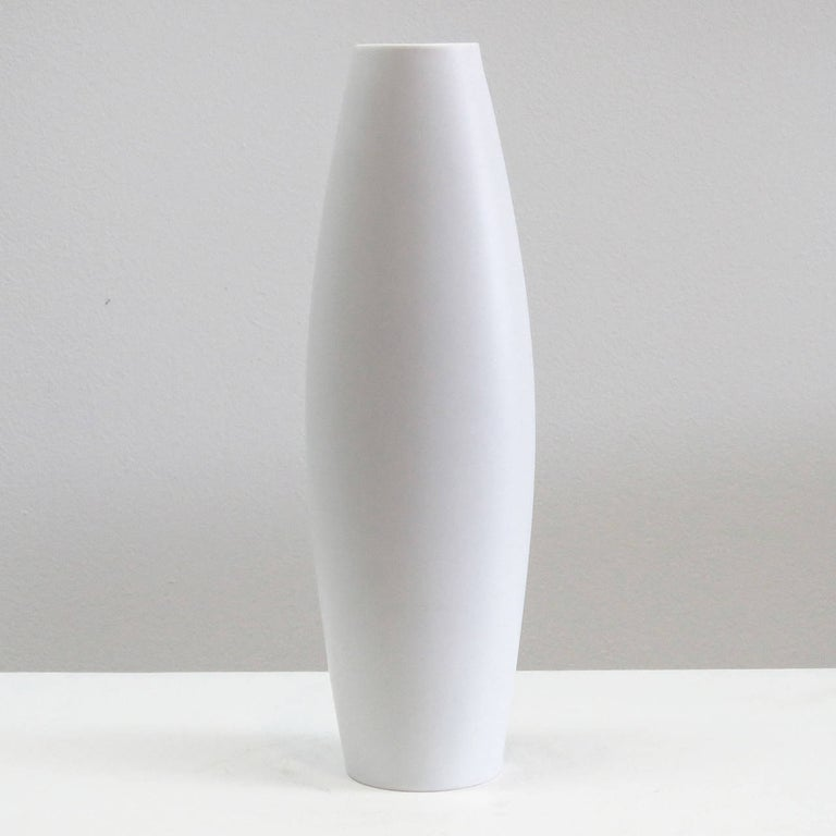 German Rare Cuno Fischer Vase 'The Lute Player', 1970 For Sale