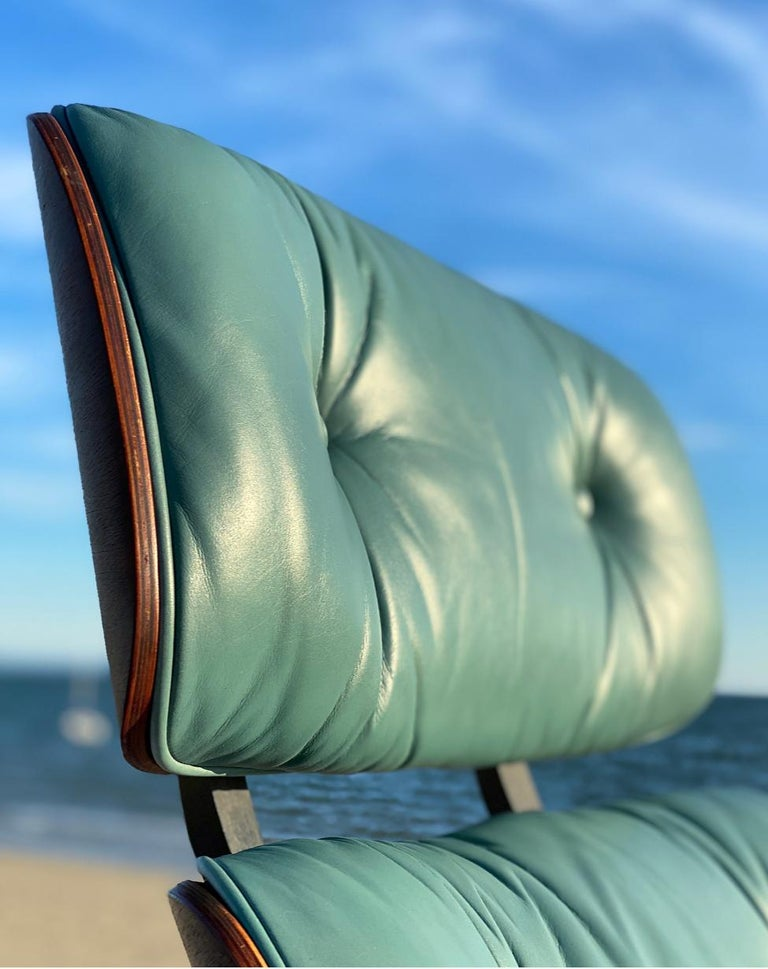 Rare Custom Herman Miller Eames Lounge Chair and Ottoman For Sale 1