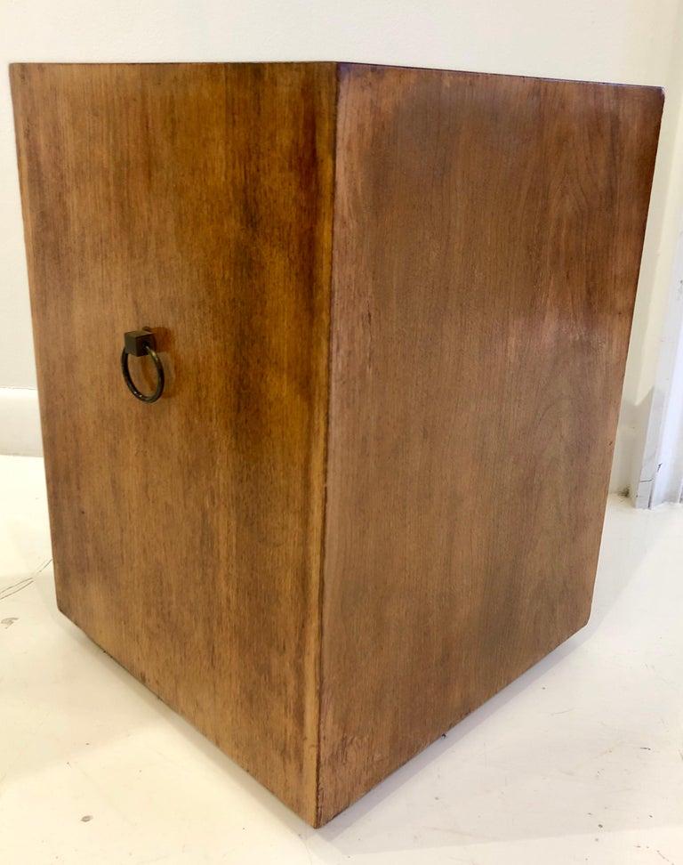 Mid-20th Century Rare Custom Robsjohn-Gibbings Wastebasket For Sale