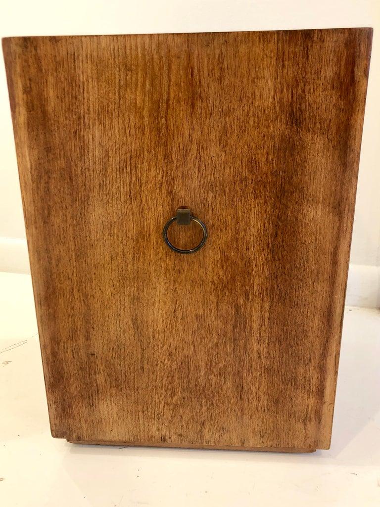 Rare Custom Robsjohn-Gibbings Wastebasket For Sale 1