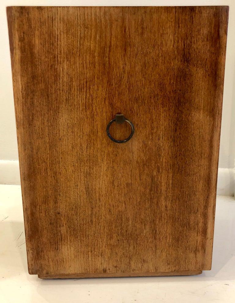 Rare Custom Robsjohn-Gibbings Wastebasket For Sale 2