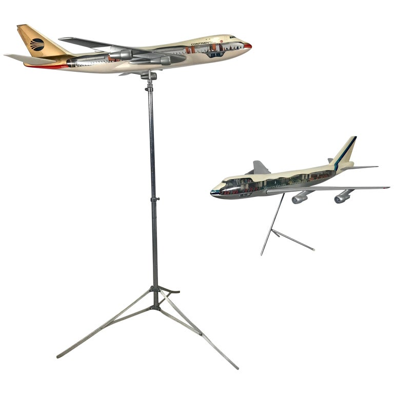 """Rare """"Cutaway' Westway Aircraft Models, Airlines, Travel Agency For Sale"""