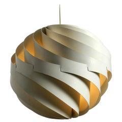 Rare Danish Pendant Lamp Turbo by Louis Weisdorf 1965 for Lyfa