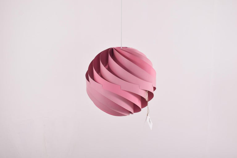 Rare Danish Pendant Lamp, Turbo by Louis Weisdorf for Lyfa, 1965 In Good Condition For Sale In Lisboa, Lisboa