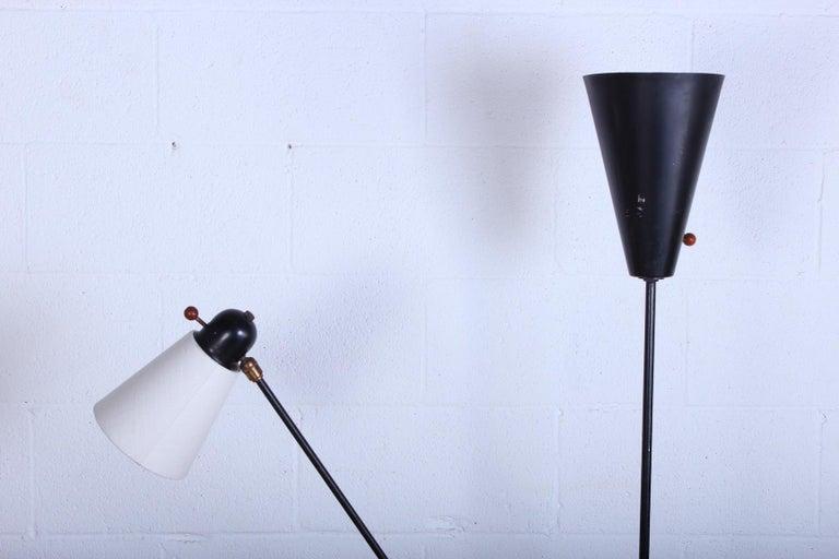 Rare David Wurster Floor Lamp In Good Condition For Sale In Dallas, TX