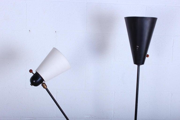 Iron Rare David Wurster Floor Lamp For Sale