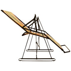 Rare Design Icon Rocking Sun Chair by Metz & Co. Vitra Design Museum, 1930