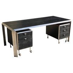 "Rare Desk by ""Bernard Marange -XXème"", TFM Minimalist Design, Edition, 1965"