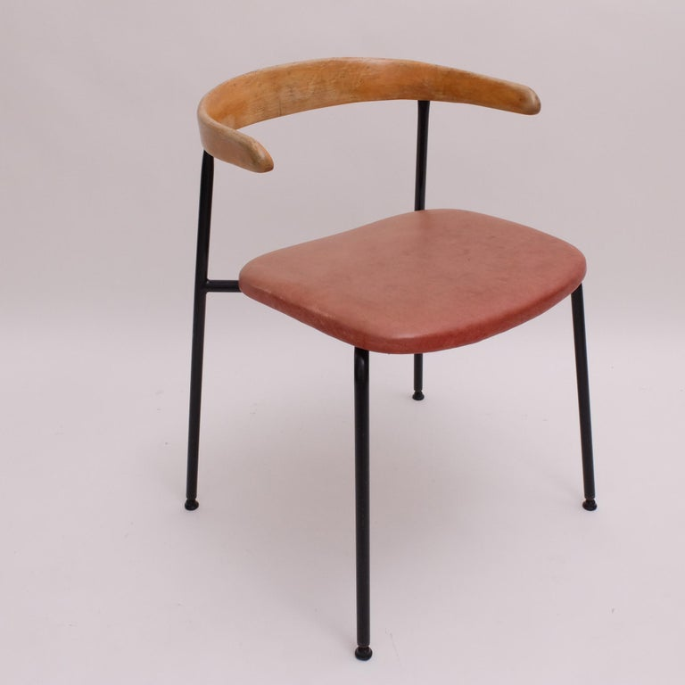 Rare Desk Chair by Sir Terence Conran c20 Chair, c.1960 For Sale 3