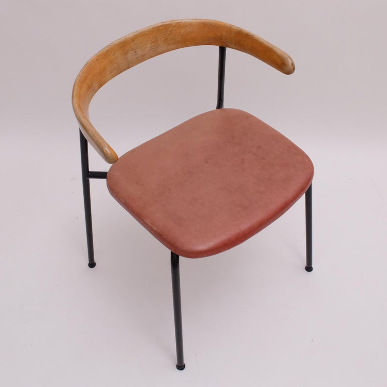 Rare Desk Chair by Sir Terence Conran c20 Chair, c.1960 For Sale 4