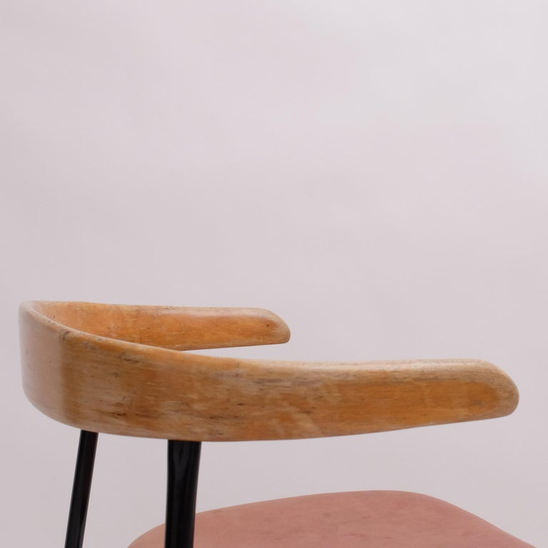 Rare Desk Chair by Sir Terence Conran c20 Chair, c.1960 For Sale 5